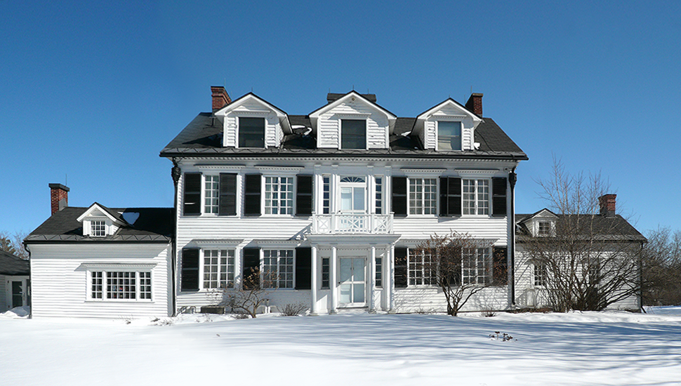 Billings Estate House, March 2017