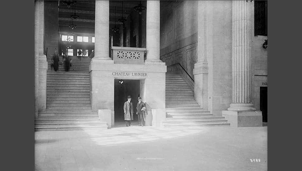 Grand Trunk Central Station Interior, Tunnel to Chateau Laurier