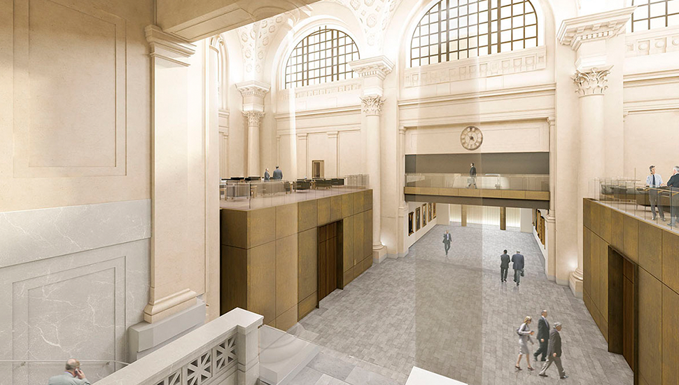 Government Conference Centre, Rehabilitated Interior, Rendering
