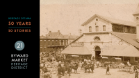 Heritage Ottawa 50 Years | 50 Stories - ByWard Market Heritage Conservation District