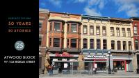 Heritage Ottawa 50 Years | 50 Stories: Atwood Block, 97-105 Rideau Street
